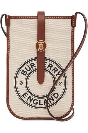 Burberry Women Phone Cases - Anne logo graphic print phone case