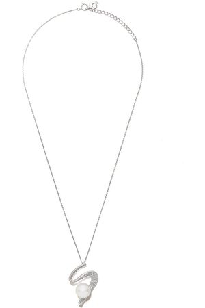 TASAKI Women Necklaces - 18kt white gold Cascade South Sea pearl and diamond pendant