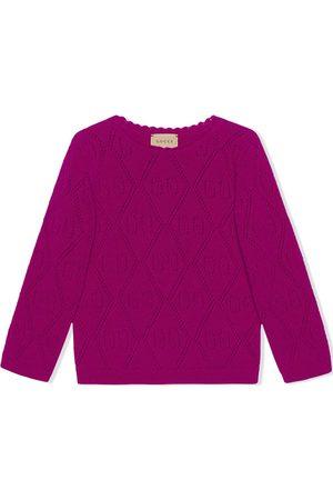 Gucci GG-stitch wool jumper