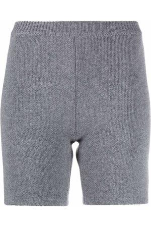 MAGDA BUTRYM Ribbed-knit wool shorts