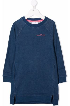 The Marc Jacobs Logo-print sweatshirt dress