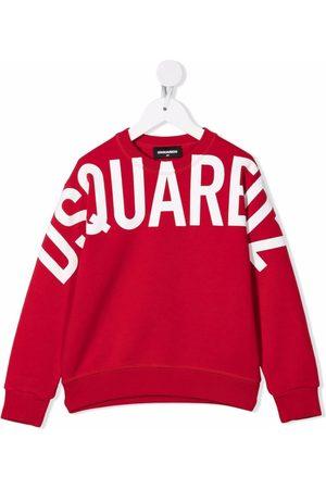 Dsquared2 Boys Sweatshirts - Logo-print cotton sweatshirt