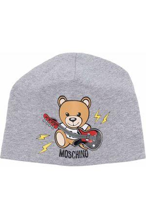 Moschino Teddy Bear print beanie