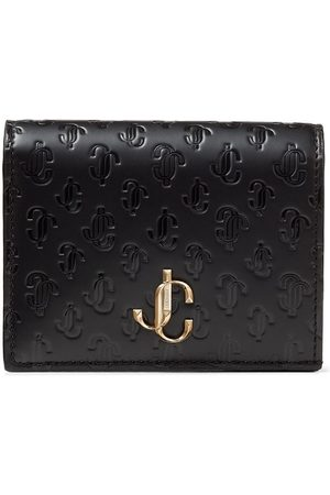 Jimmy Choo Hanne logo-embossed wallet