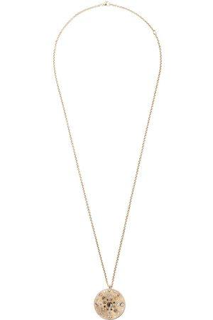 De Beers 18kt Talisman 10 Medal diamond small necklace