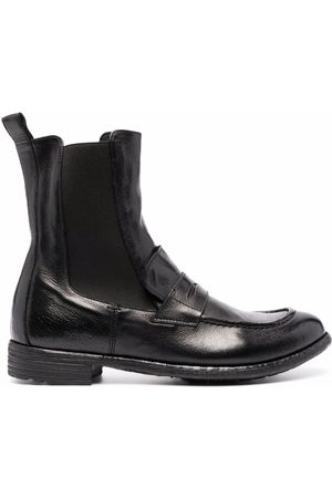Officine creative Stretch panel ankle boots