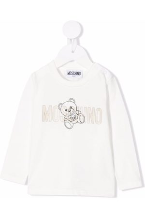 Moschino Baby Jumpers - Teddy bear print jumper