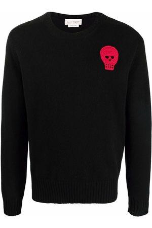 Alexander McQueen Crochet-skull jumper