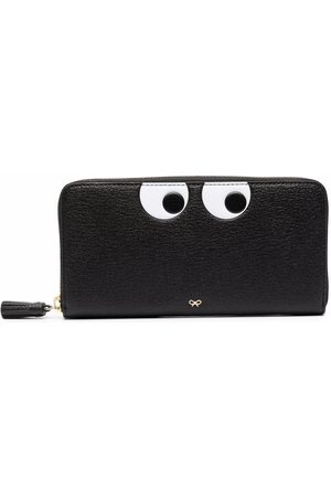 Anya Hindmarch Women Wallets - Eyes leather wallet