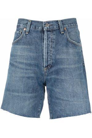 Citizens of Humanity Women Shorts - Washed-effect shorts