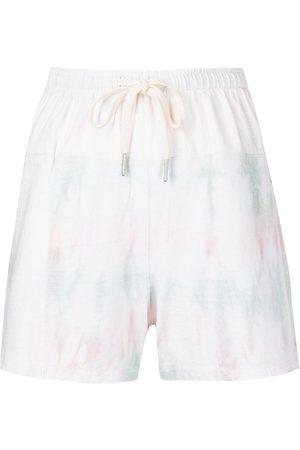JOHN ELLIOTT Reconstructed tie-dye shorts