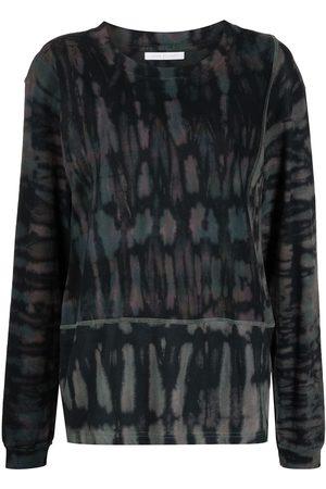 JOHN ELLIOTT Women Long Sleeve - Tie dye-print T-shirt