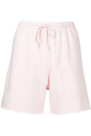 JOHN ELLIOTT Women Shorts - Vintage fleece Venice shorts