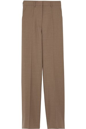 Burberry Wool wide-leg trousers