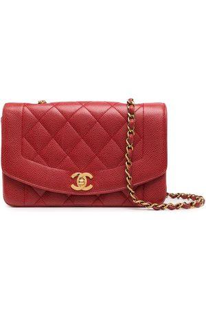 CHANEL Women Shoulder Bags - 1992 small Diana CC crossbody bag
