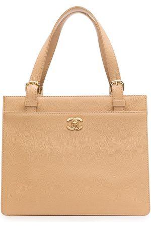 CHANEL Women Handbags - 1998 CC turn-lock tote bag