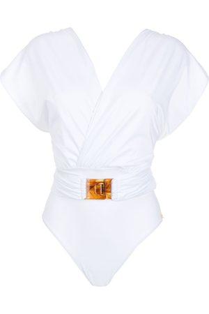 Brigitte Women Swimsuits - Crisscross-strap swimsuit