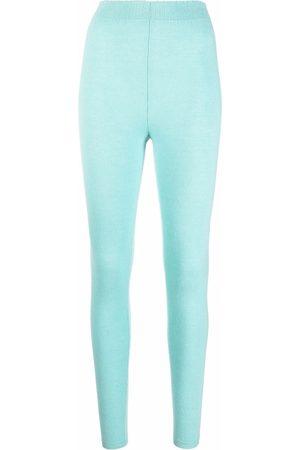 AMI AMALIA Fine-knit leggings