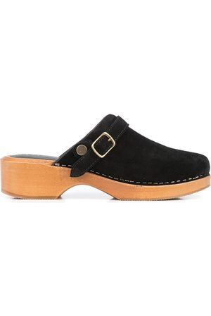 RE/DONE Women Casual Shoes - 70s suede clogs