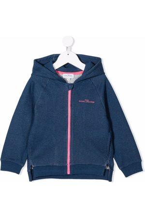 The Marc Jacobs Girls Hoodies - Logo-print zip-up hoodie