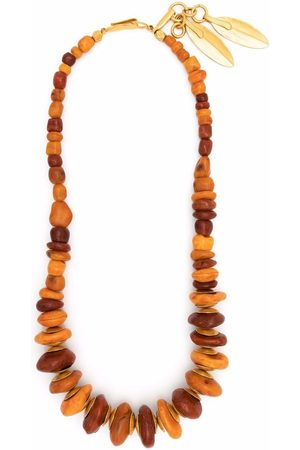 CHANEL Women Necklaces - 1998 hammered-finish beaded necklace