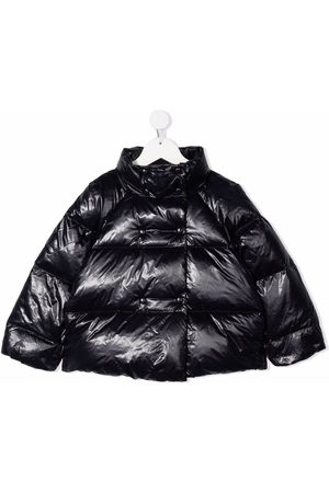 Emporio Armani Girls Jackets - Down-filled padded jacket