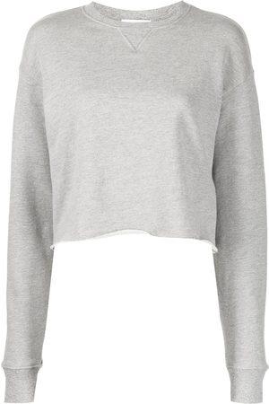 JOHN ELLIOTT Women Sweatshirts - Snyder cropped sweatshirt