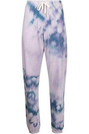 JOHN ELLIOTT Tie-dye print track trousers