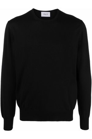 D4.0 Men Jumpers - Round neck wool jumper