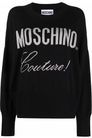 Moschino Couture logo jumper