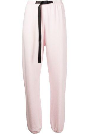 JOHN ELLIOTT Buckled cotton track trousers