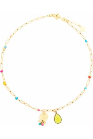 Gas Bijoux Clarence charm necklace