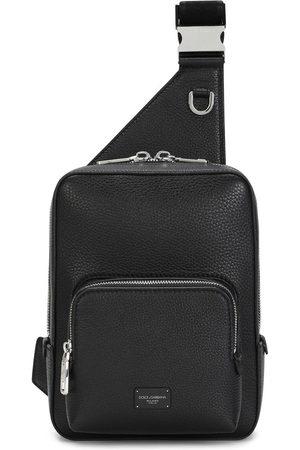 Dolce & Gabbana Zip-around leather belt bag