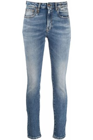 R13 Washed-effect jeans