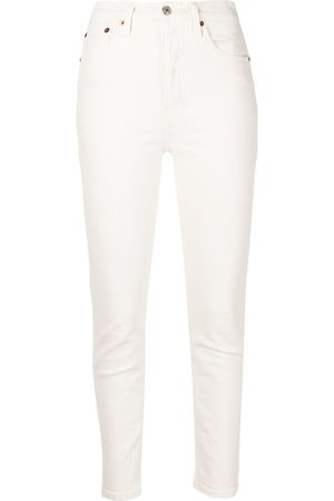 RE/DONE Women Skinny - Comfort-Stretch High-Rise jeans