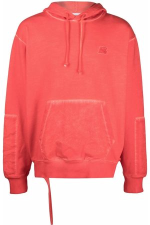 Helmut Lang Men Sweatshirts - Embroidered-logo hoodie