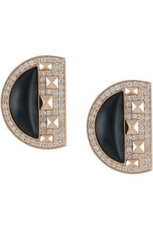 Terzihan Women Earrings - 18kt rose Cairo diamond stud earrings
