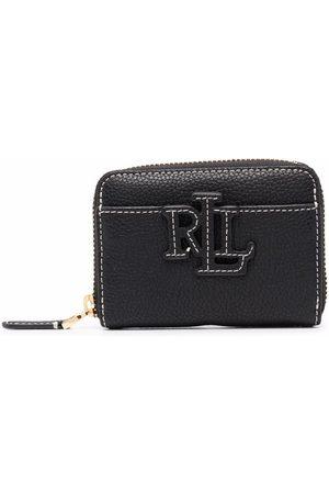 LAUREN RALPH LAUREN Pebble-texture zipped wallet