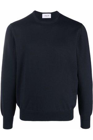 D4.0 Men Jumpers - Round neck knitted jumper