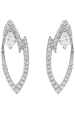 STEPHEN WEBSTER 18kt white gold Lady Stardust diamond earrings