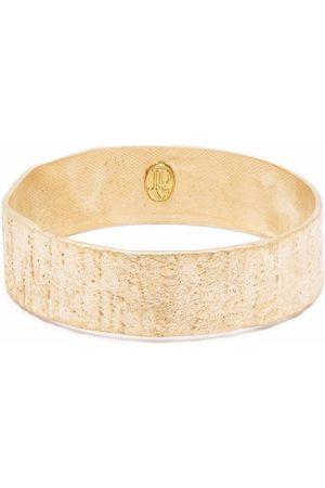 Jean Paul Gaultier 2000s textured-finish bangle bracelet