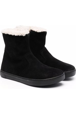 Birkenstock Shearling-lined slip-on boots