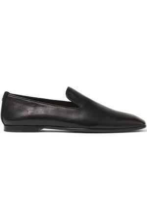 Jimmy Choo Varsha square-toe flat loafers