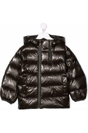 Emporio Armani Boys Jackets - Hooded padded jacket