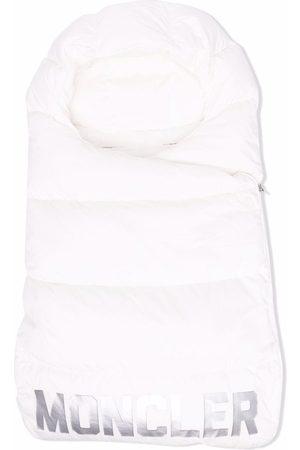 Moncler Logo-print padded blanket