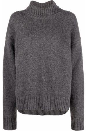 Jil Sander Ribbed-trim cashmere-blend jumper