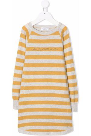 Brunello Cucinelli Dreamer stripe-print dress