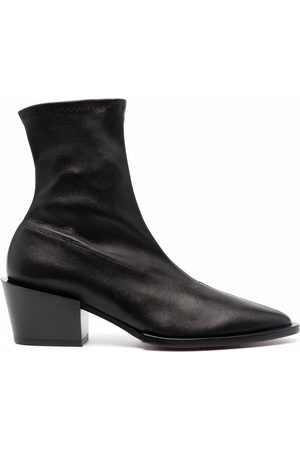 Robert Clergerie Margot leather ankle boots