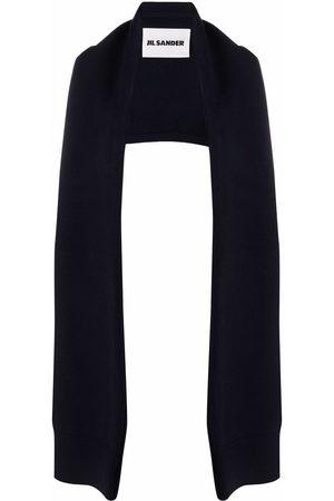 Jil Sander Knitted sleeved-scarf