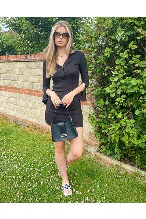 Urban Revivo Split sleeve mini dress in